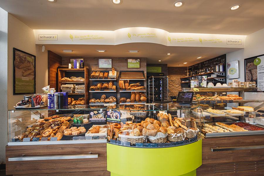 Bäckerei in der Vorkassenzone