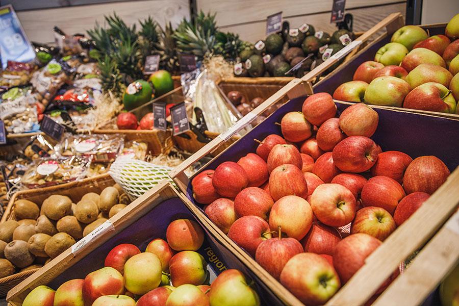 Apfellieferanten, dem Rosenhäusle