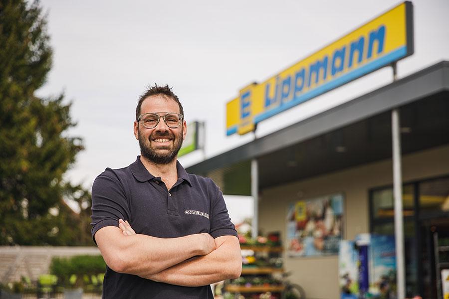 Robert Lippmann bei EDEKA